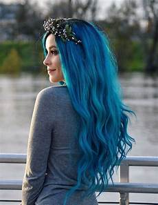 most popular blue hair color style for hair stylesmod