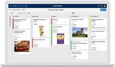 Personal Task Tracker Card View Gallery Smartsheet