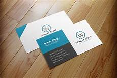 Examples Of Calling Card Simple Corporate Business Card Business Card Templates