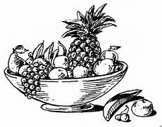 Gratis Malvorlagen Obst Schale Mit Obst Ausmalbild Malvorlage Essen Und Trinken