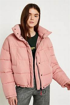 Light Blue Puffer Jacket Urban Outfitters Light Before Dark Pink Pillow Puffer Jacket Urban