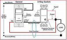 Motion Sensor Light Switch Wiring Diagram Replacing 3way Switch With Motion Sensor Doityourself