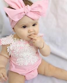 Bady Girl 2pcs Super Cute Pink Romper For Baby Girls Newborn Baby