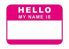 Design My Name Online Free Hello My Name Is Pink Just Because Cards Amp Quotes