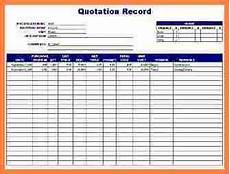 Spreadsheet Quotes 7 Quote Tracking Spreadsheet Budget Spreadsheet