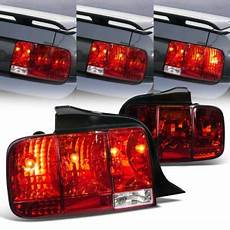 Ford Mustang Euro Lights Ford Mustang 2005 2009 Red Euro Lights Sequential