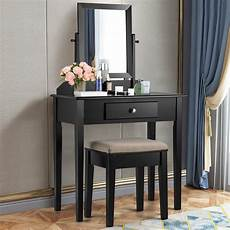 costway costway vanity dressing table large vanity table