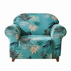 Durable Sofa Cover Png Image by 1 Leaves Printed Stretchy Chair Slipcover Furniture