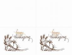 thanksgiving card template word free thanksgiving invitations 2 per page for avery 3268