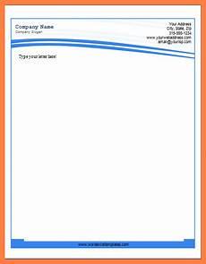 Ms Office Letterhead Template 5 Letterhead Template Doc Company Letterhead