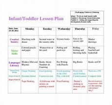 Printable Toddler Lesson Plans 59 Lesson Plan Templates Pdf Doc Excel Free
