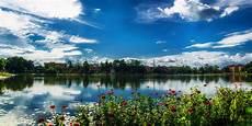 panorama nature 4k wallpaper cloudy sky lake lakeside landscape nature