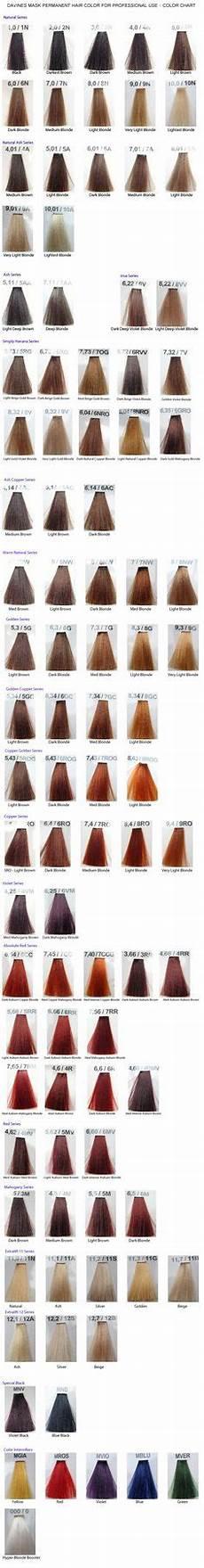 Davines Mask Colour Chart I N S P I R E D Hair Color On Pinterest Purple Hair