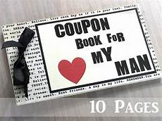 How To Make A Coupon Book For My Boyfriend 10 Page Love Coupon Book For Husband Boyfriend
