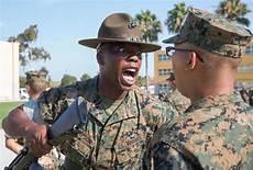 Marines Corps Drill Instructor Volunteering For Marine Recruiter Or Drill Instructor Duty