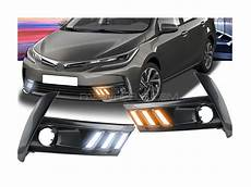 Corolla 2017 Fog Lights Buy Toyota Corolla 2017 Facelift Drl Fog Light Covers In