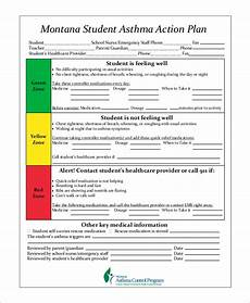 Asthma Action Plan Chart Free 9 Sample Asthma Action Plan Templates In Ms Word Pdf