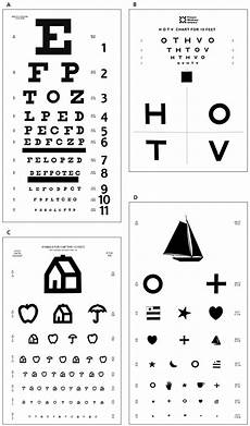 Printable Allen Picture Eye Chart Childhood Eye Examination American Family Physician