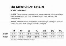 Arctic Armor Size Chart Sizing Chart Us Lacrosse Member Store