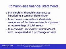 Common Size Financial Statements Ppt Chapter 9 Financial Statement Analysis I Powerpoint