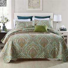 quilted 100 cotton coverlet bedspread set king
