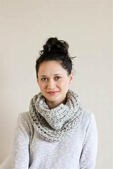 knit look cowl crochet pattern favecrafts