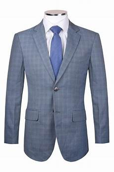 Light Blue Check Jacket Jss Mens Light Blue Tweed Style Check Blazer Jacket