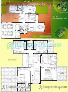 Villa Floor Plans Villas Floor Plans Justproperty