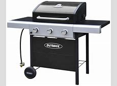 Outback 3 Burner Gas BBQ with Cover   Gay Times UK   £329.99