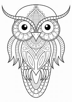 Owl Sheets Owl Simple Patterns 1 Owls Coloring Pages