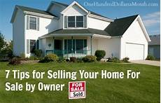 Owner Sale Property 7 Tips For Selling Your Home For Sale By Owner One