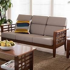 wholesale interiors baxton studio armanno 3 seater living