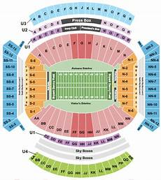 Bryant Denny Stadium Seating Chart With Seat Numbers Bryant Denny Stadium Seating Chart Rows Seat Numbers