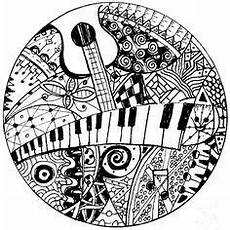 doodle to color malvorlagen zentangle