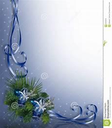 Blue Holiday Border Christmas Border Blue Stock Illustration Illustration Of