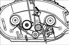 Belt Replacement Schematics For A John Deere Riding Lawnmower