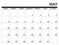 Print A Blank Calendar 2019 Printable Calendar Free Pages Paper Trail Design