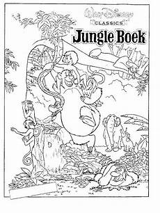 coloring pages of jungle book coloring home