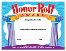 Certificate Of Recognition For Honor Students Honor Roll Award Reward Your Students For Their Special