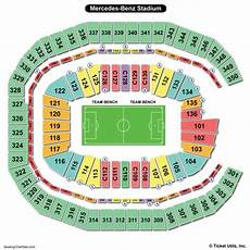 Seating Chart Mercedes Benz Atlanta United Mercedes Benz Stadium Seating Chart Seating Charts Amp Tickets