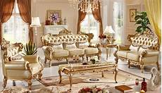 Italian Sofa Sets For Living Room 3d Image by Classic Italian Style Luxury Leather Sofa Set Living Room