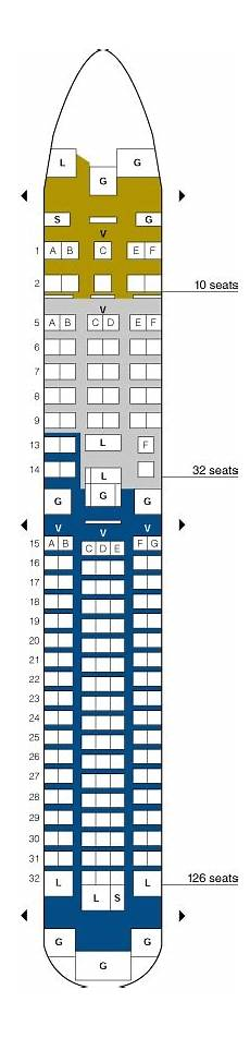 United Airlines Seating Chart 777 International United Airlines Boeing 767 200 Seating Map Aircraft Chart