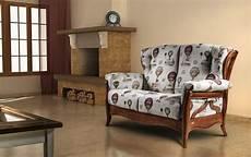 divanetti in legno sofa with wooden structure rustic style idfdesign