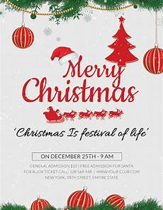 Christmas Flyer Templates Free 27 Holiday Party Flyer Templates Psd Free Amp Premium