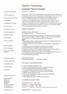 Resume For Customer Service Executive 22 Best Customer Service Representative Resume Templates