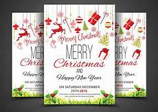 Invitation Flyer Template Christmas Party Flyer Amp Invitation Flyer Templates