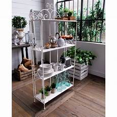 etagere shabby chic etagere shabby chic in stile provenzale h 165 cm casamata
