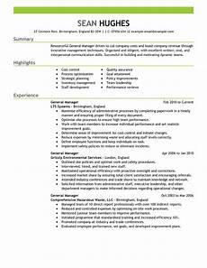 It Management Resume Best General Manager Resume Example Livecareer