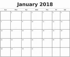 Month Printable Calendar Monthly Calendar 2018 Calendar Monthly Blank Monthly