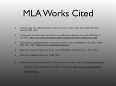 Is It Work Or Works Cited Mla Works Cited Part 2
